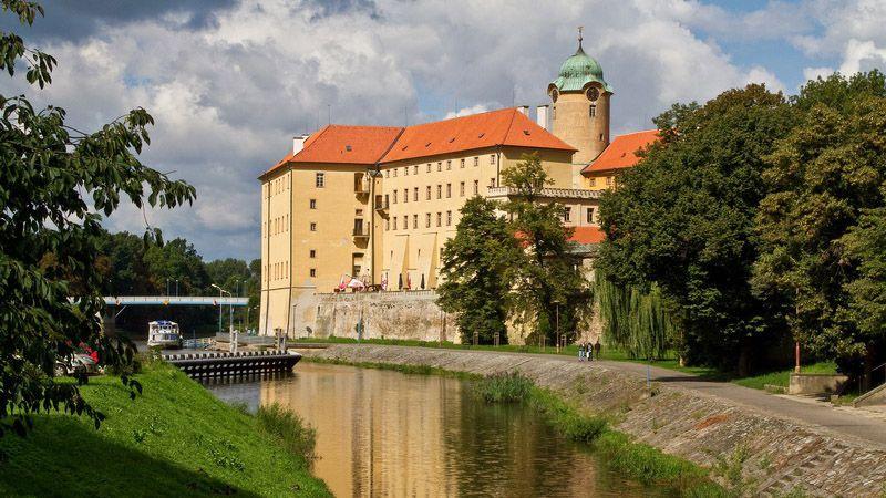 Poděbrady - le château