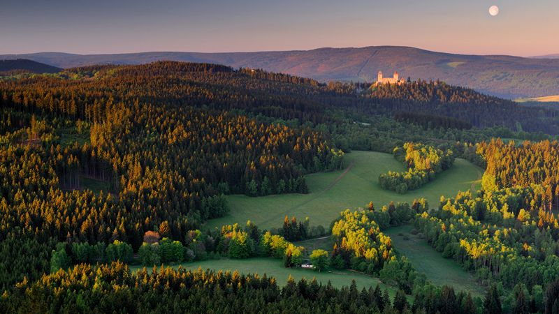 Selva Boema - castello di Kašperk