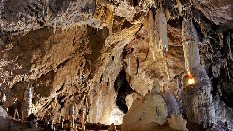 Punkva-Höhlen – der Masaryk-Dom
