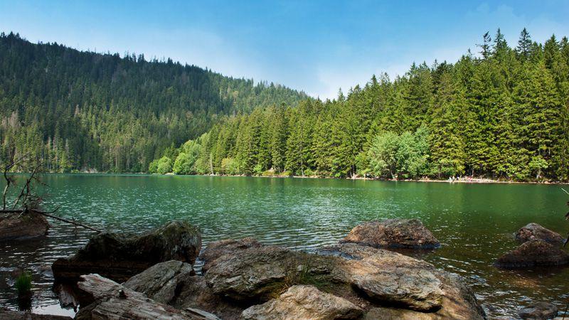Lago Černé jezero
