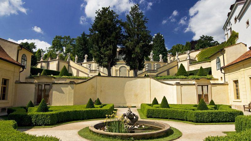 Praga - Giardino di Vrtba