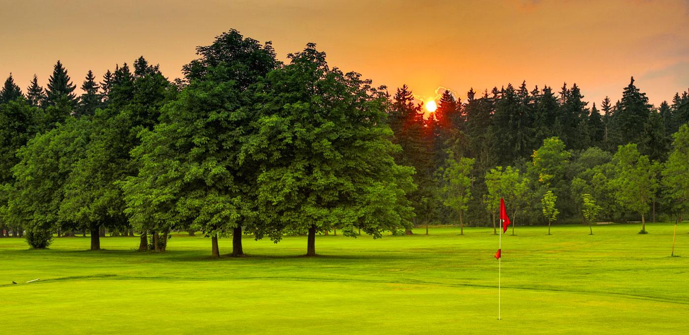 Golf in surroundings of Marianske Lazne