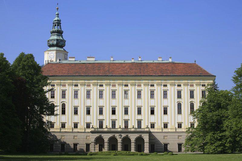 Kroměříž - le château archiépiscopal