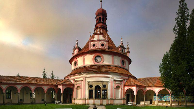 Jindřichův Hradec - Rondel Music pavilion