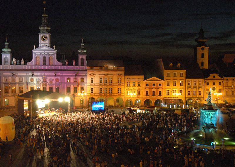 Ческе Будейовице - музыкальный фестиваль