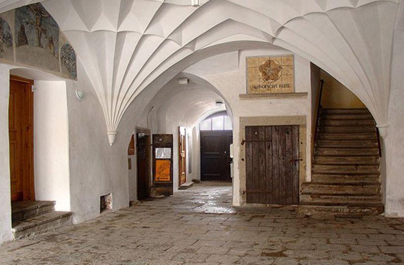 Slavonice – unterirdisches Kellersystem