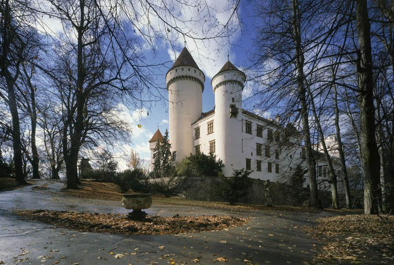 Le château de Konopiště