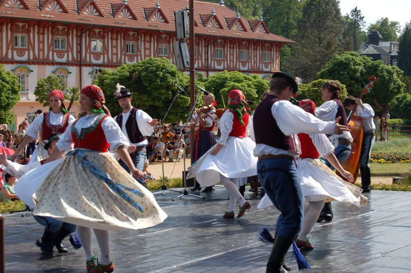 Luhačovice - Opening of the Springs Festival