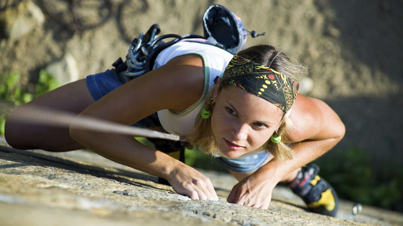 Climbing - Elbe sandstone rocks