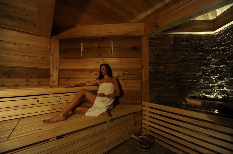 Sauna e relaxamento