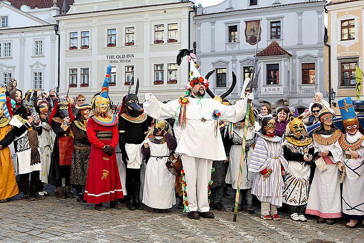 Carnival in Český Krumlov