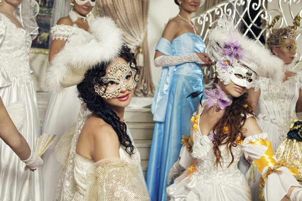 Get dressed up! The season of dance, balls, carnivals and processions is coming.