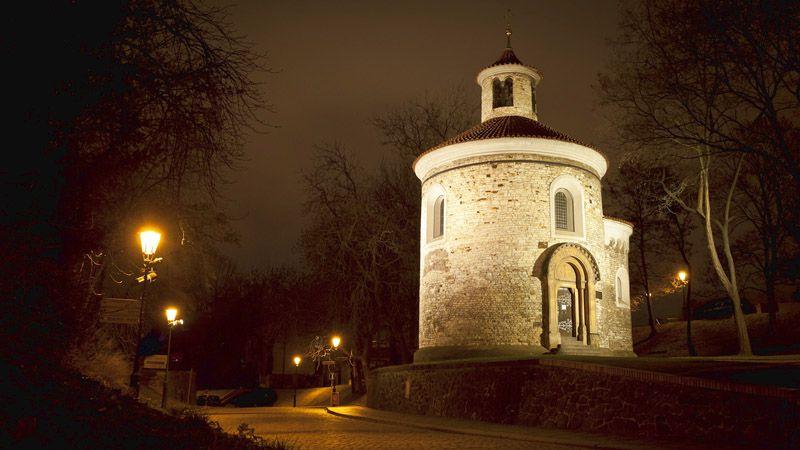 Wyszehrad - rotunda św. Marcina