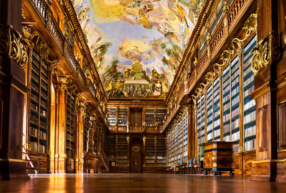 La bibliothèque du Monastère de Strahov