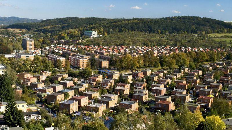 Zlín – Baťa-Häuser