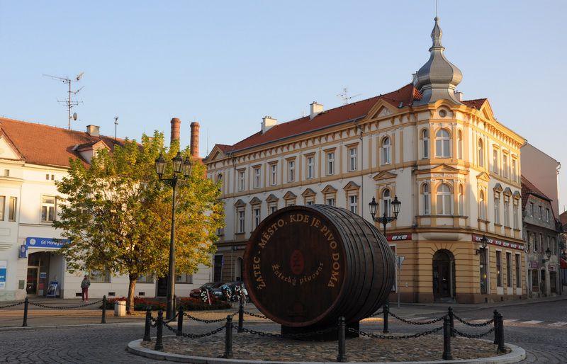 Žatec - square