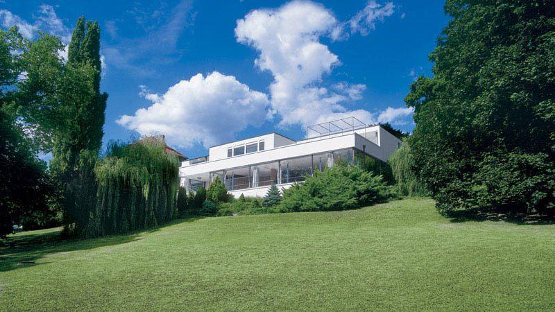Brno - la villa Tugendhat