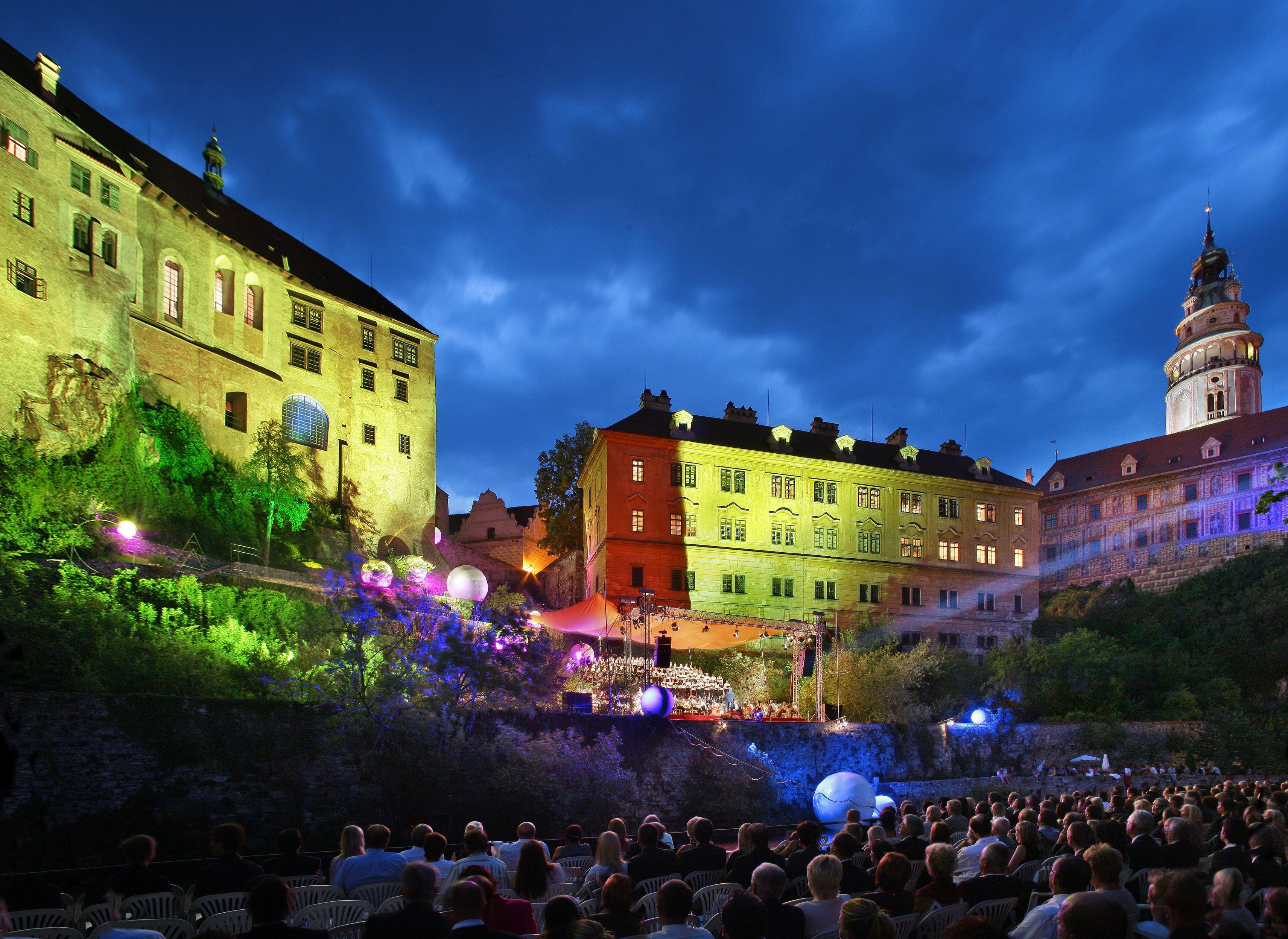 Český Krumlov – die Musikfestspiele