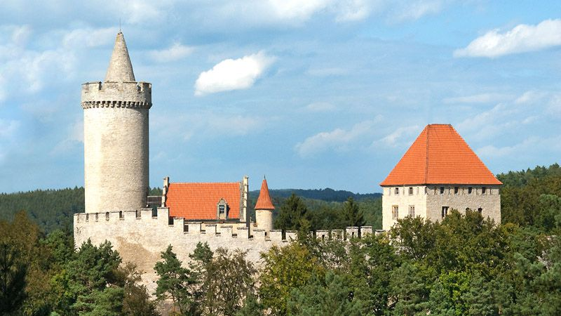 Le château fort de Kokořín
