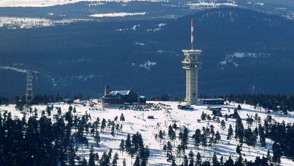 Krušné Mountains - Klínovec
