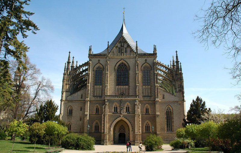 Kutná Hora - Church of St. Barbara