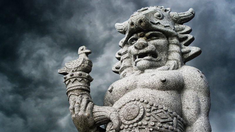 Radhošť – die Radegast-Statue