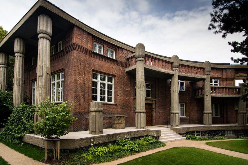 Prag – die Villa Bílek