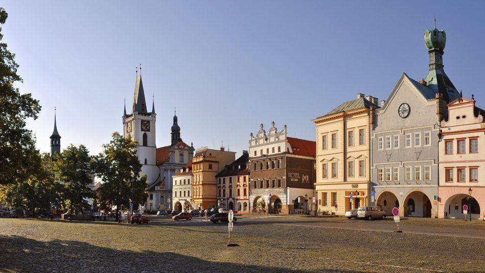 Litoměřice - Kalich and UČerného orla buildings