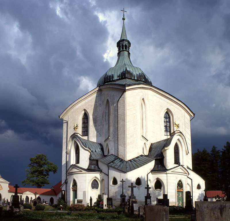 Church of St. John of Nepomuk on Zelená hora