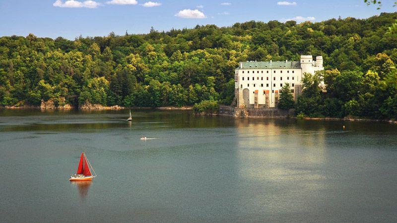 Orlík nad Vltavou Chateau