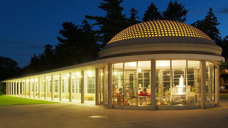 Poděbrady - spa colonnade