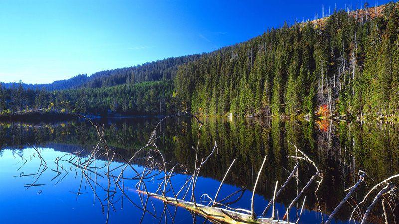 Šumava - Prášil Lake