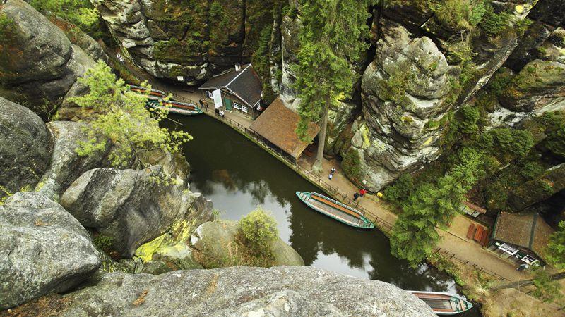 Bohemian Switzerland - gorges