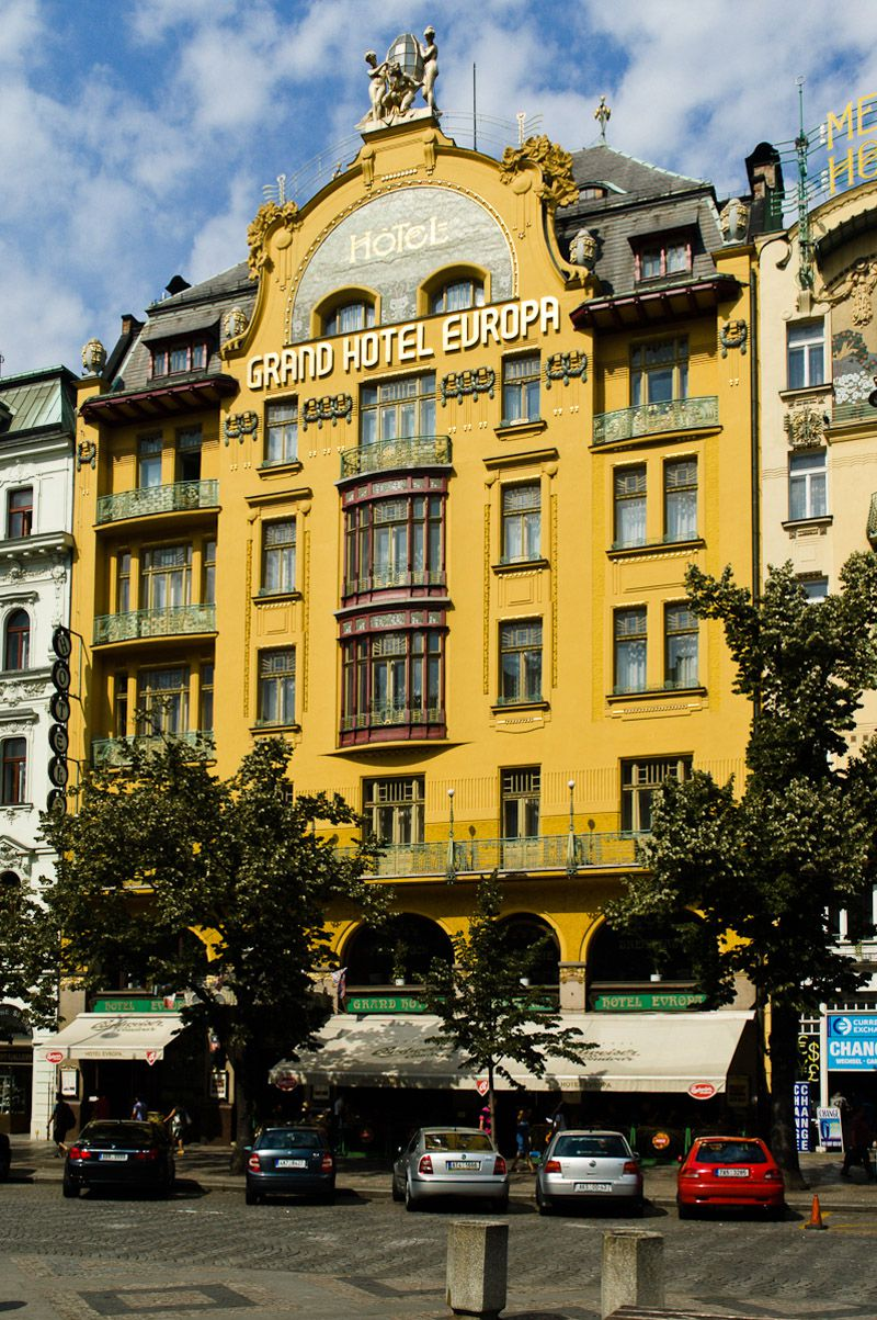 Prague - Grand hotel Evropa
