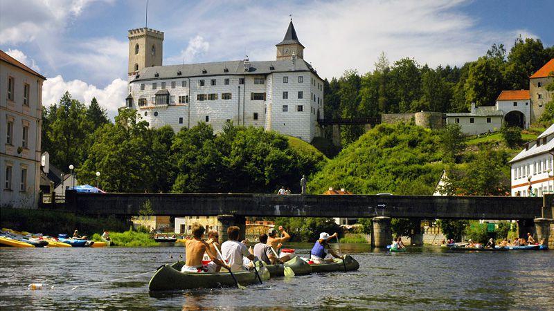 Zamek Rožmberk