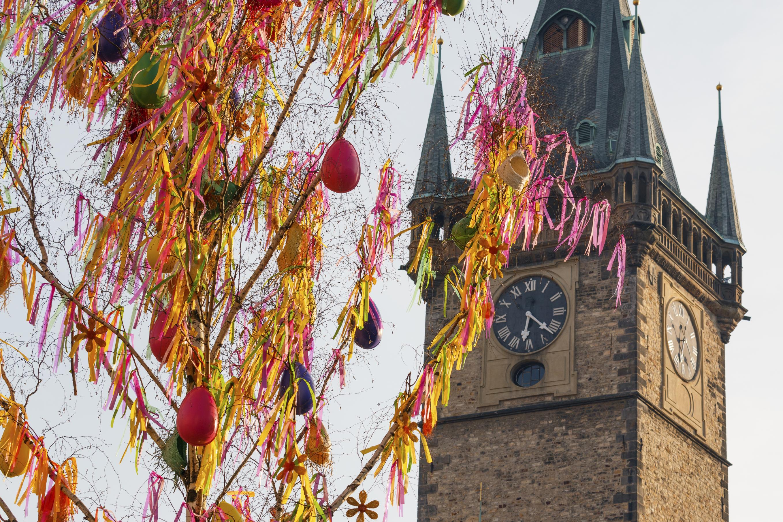 Отпразднуйте Пасху в чешских и моравских городах или, например, по-старинному обычаю, как сто лет назад.