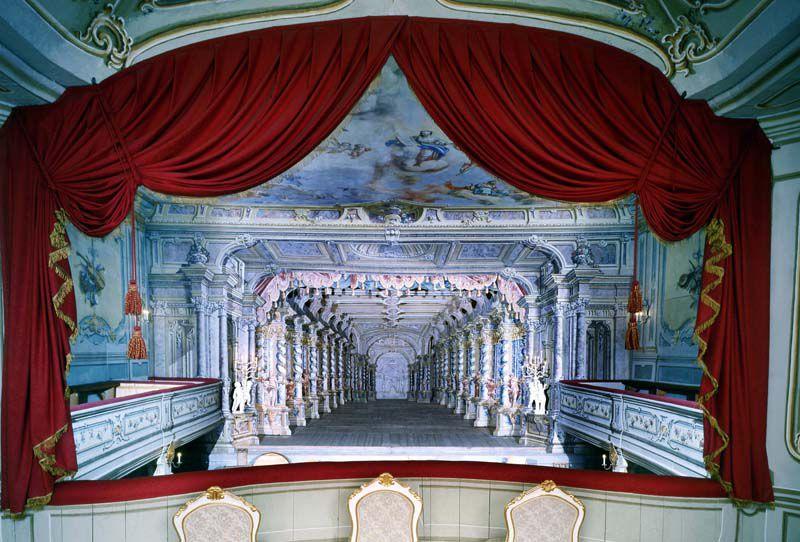 Český Krumlov - Chateau Theatre