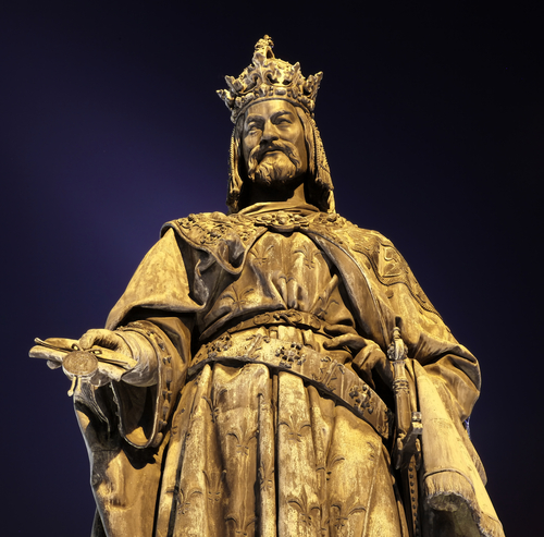 Exhibition named The Era Of Charles IV through the Writings of Czech Writers, Scientists and Historians held at the Museum of Czech Literature.