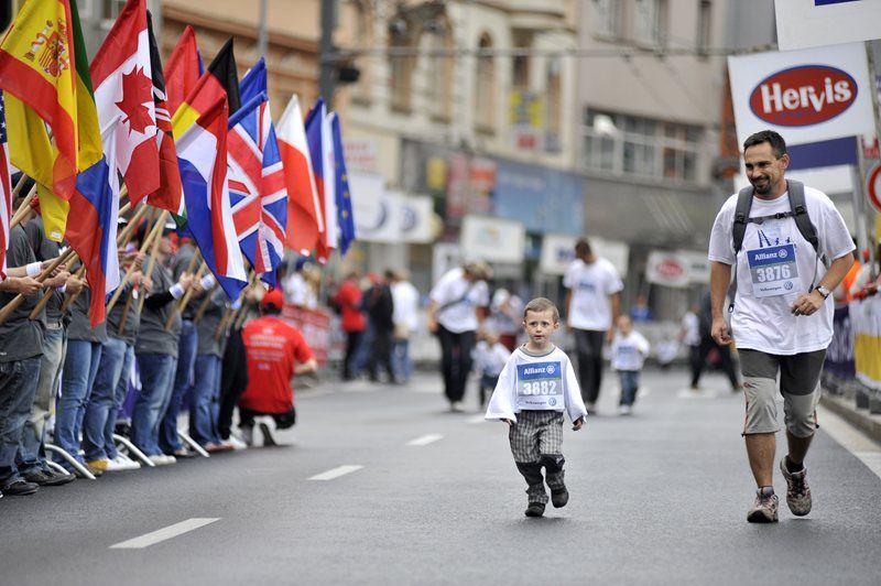 Challenge yourself and run the course of the Ústí half marathon!