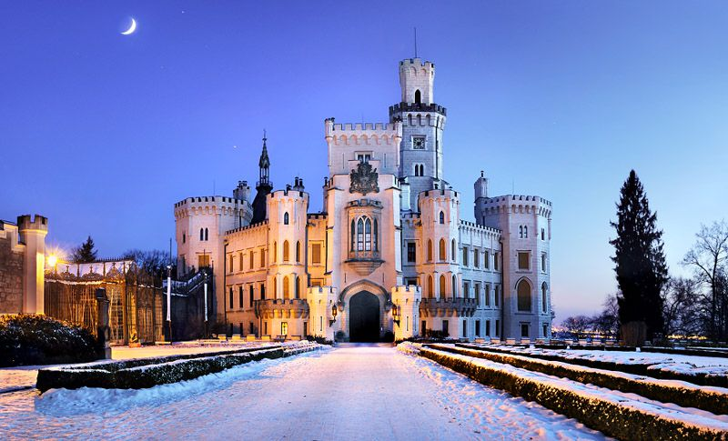 Chateau Hluboká nad Vltavou