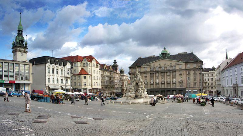 Brno - piazza Zelný trh
