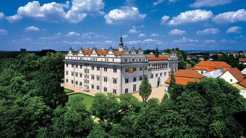 Замок изамковый ареал Литомышль