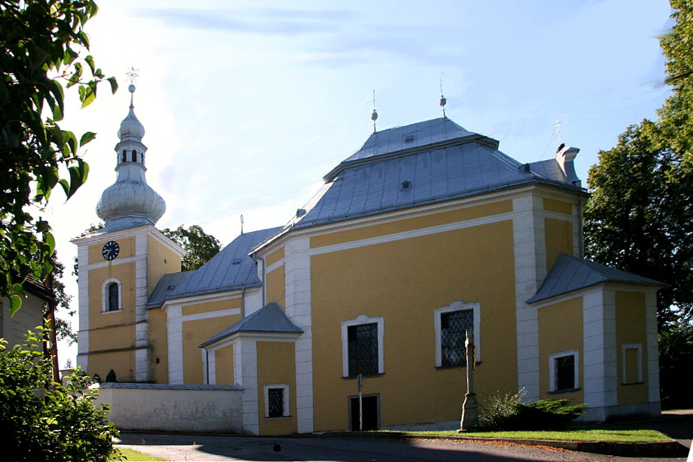 Church of Our Lady of the Visitation in Obyčtov