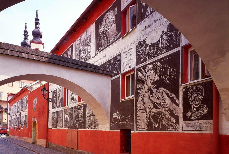 Litomyšl - Váchalova ulice