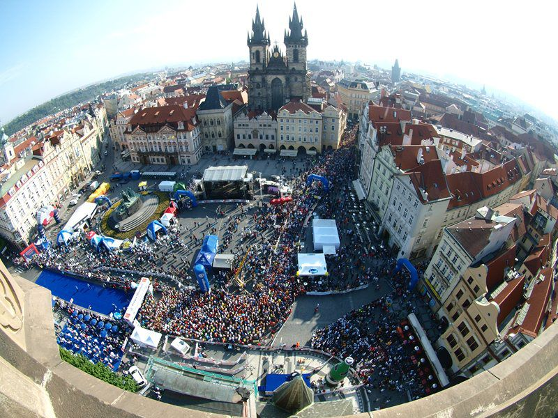 The most prestigious marathon in Central Europe with the IAAF golden mark of quality!