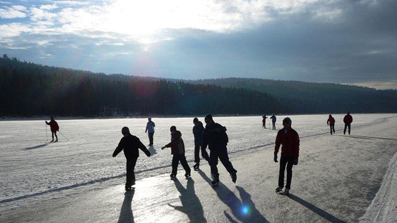 Lipno - skating track