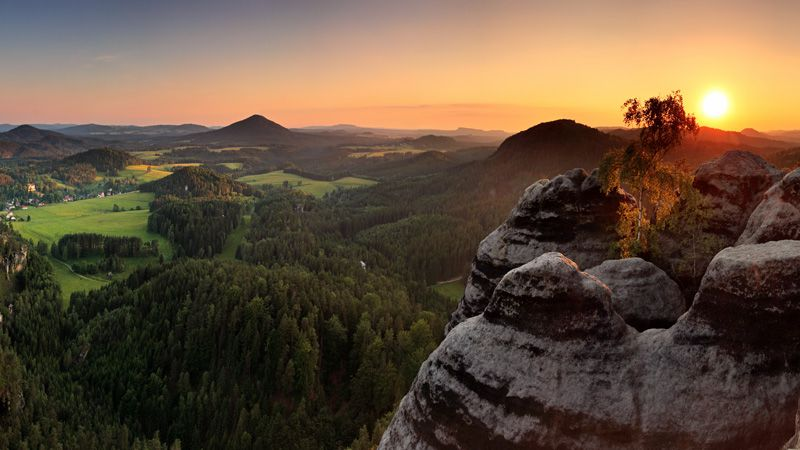 La Suisse tchèque