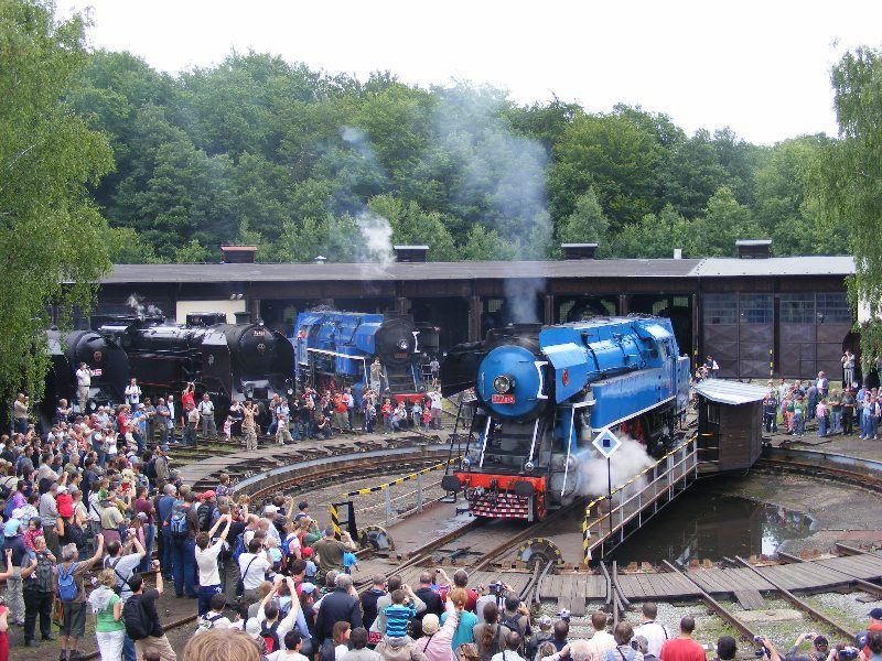 Railway Museum in Lužná u Rakovníka