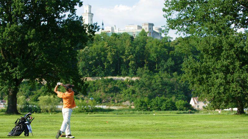 Golf club di Hluboká nad Vltavou