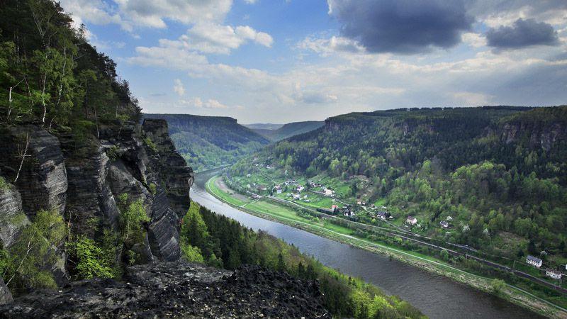 Suisse tchèque - les gorges de l'Elbe